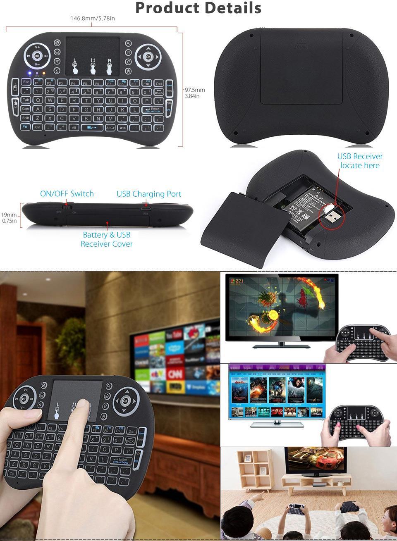 backlit rii i8 air mouse wireless ke end 7 22 2020 8 15 pm. Black Bedroom Furniture Sets. Home Design Ideas