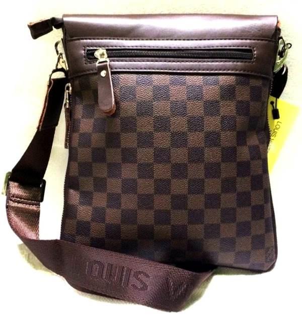 37c45f5e2b27 BACKPACK DUFFEL BAG Woman Man Men Hand Leather Sling Tablet Bag Beg. ‹ ›