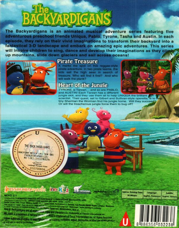 Heart Of The Jungle Image The Backyardigans The Heart Of The Jungle