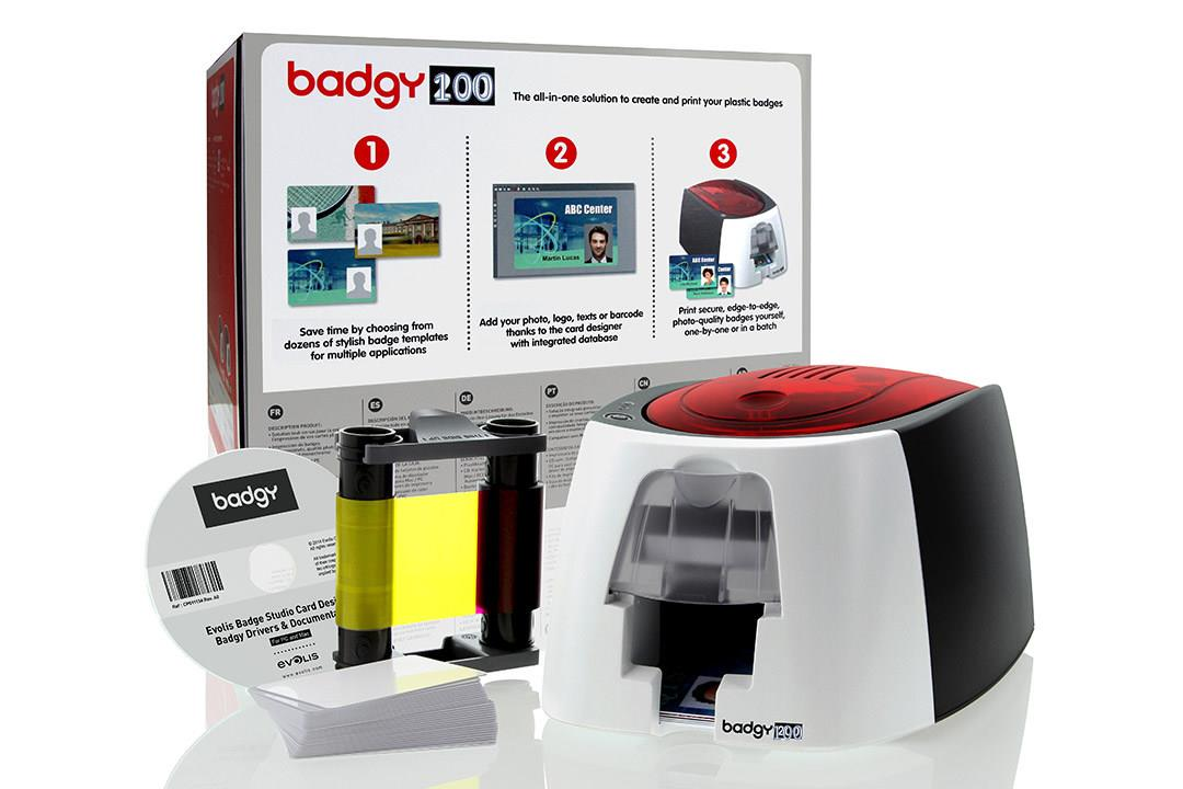 BADGY 100 ID CARD PRINTER (NEW)