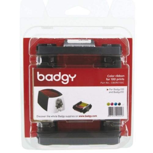 Badgy Color ribbon for 100 prints (YMCKO)