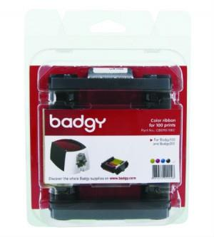 BADGY COLOUR RIBBON (CBGR0100C) - YMCKO
