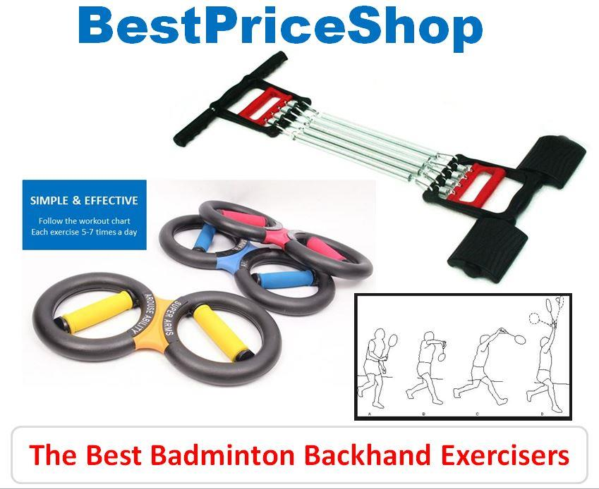 Best Badminton Backhand Exerciser - powerful smash stroke drop