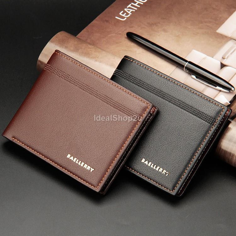 BAELLERRY Men Women Leather Wallets (end 12 13 2020 1 10 PM) 01fafc6f1