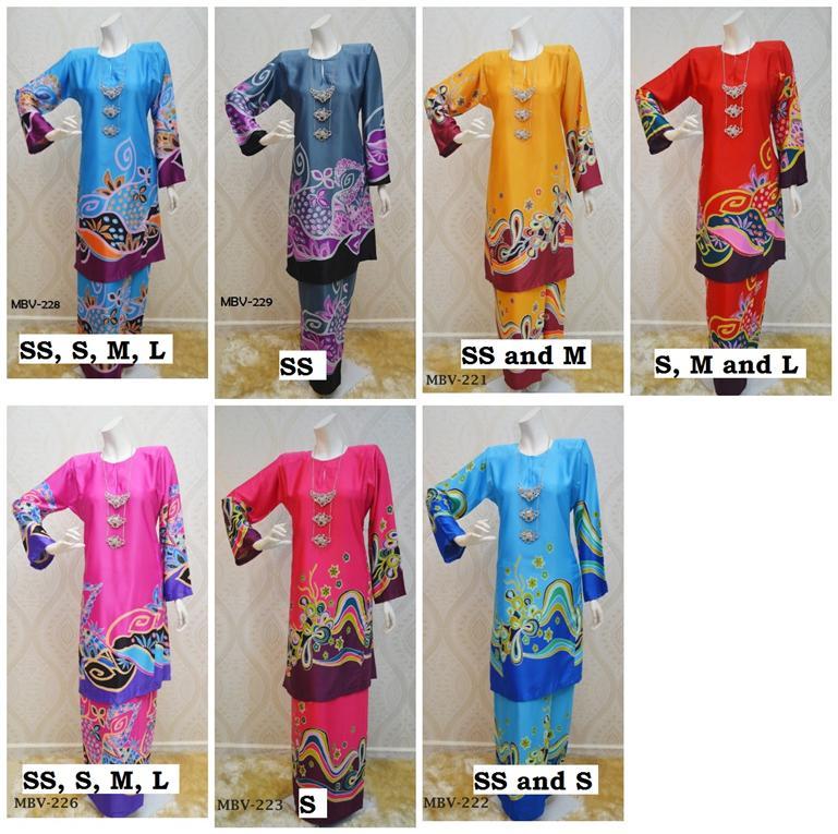 Baju kurung Malaysian Batik Vanda end 7232015 645 PM