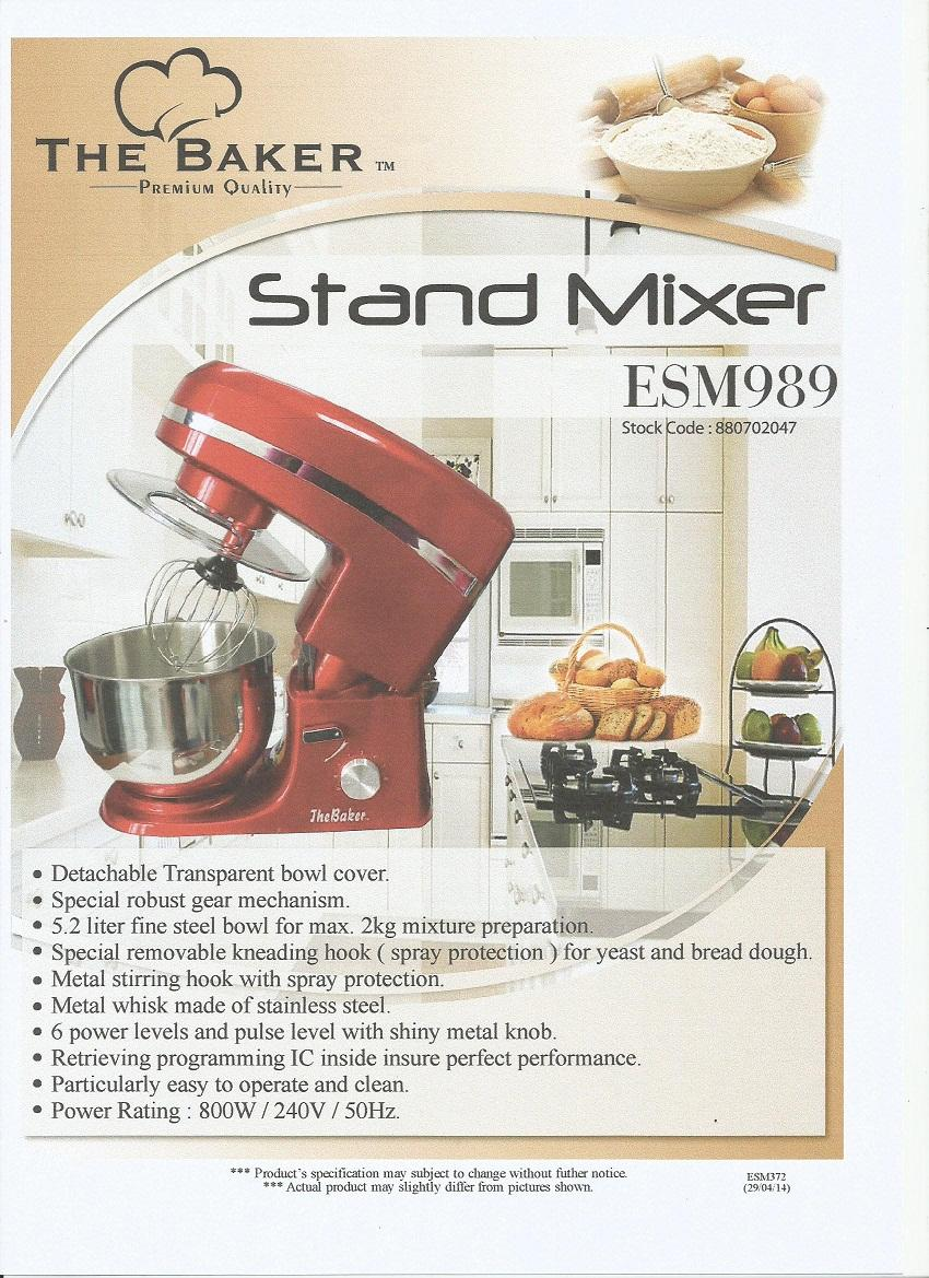 The Baker Stand Mixer Esm 989 Pin End 11 28 2018 2 15 Pm