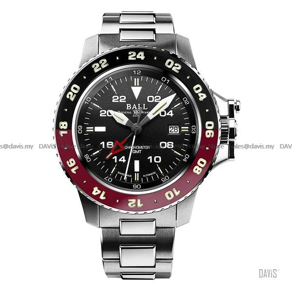 BALL Watch DG2018C-S3C-BK Engineer Hydrocarbon AeroGMT II Black