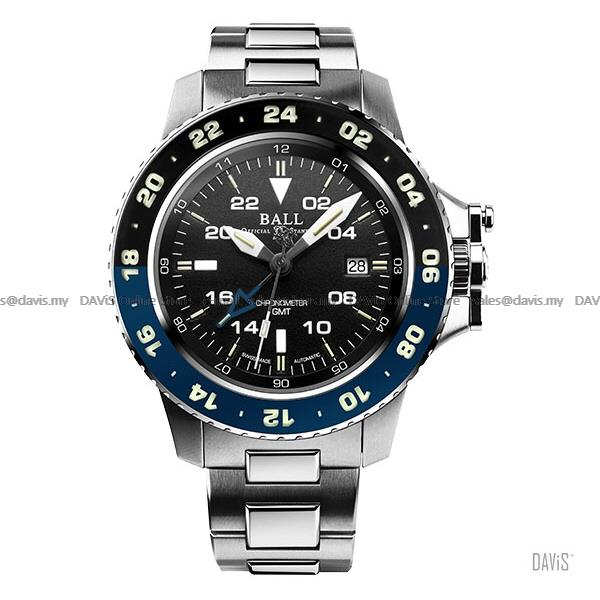 BALL Watch DG2018C-S5C-BK Engineer Hydrocarbon AeroGMT II Black LE