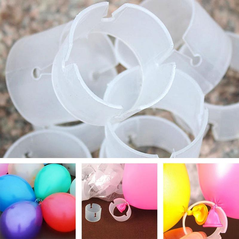 Balloon Arch Column DIY Convenient PVC Folder Clips 20pcs