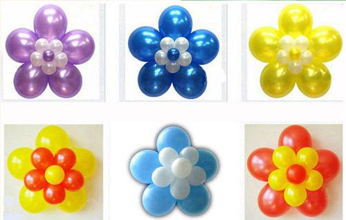 Balloon Clip Flower Clip Double Layer Flower Clips