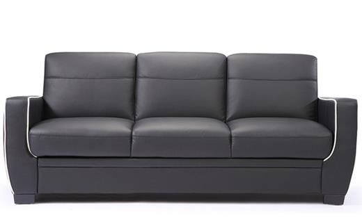 Bally Modern Faux Leather Sofa Bed with Storage