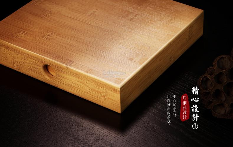 Bamboo Wood Chinese Pu Er Tea Storage Box, Puu0027er Tea Cake Boxes