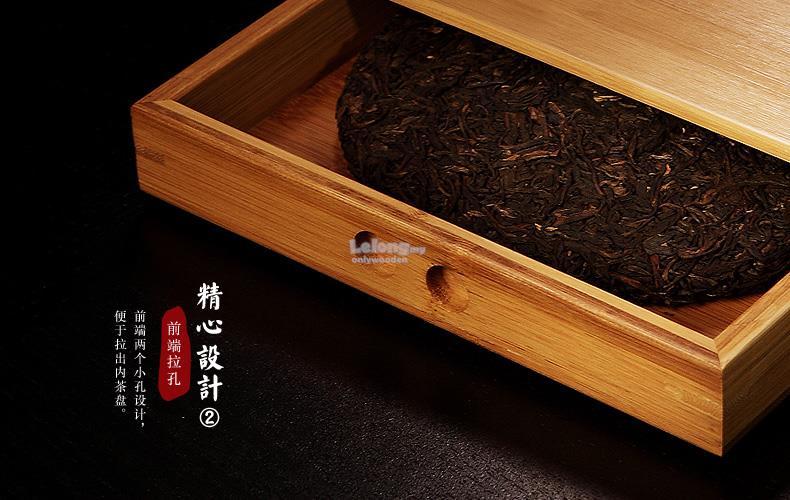 Bamboo Wood Chinese Pu Er Tea Storage box Puu0027er Tea Cake Boxes & Bamboo Wood Chinese Pu Er Tea Stora (end 6/24/2018 10:15 PM) Aboutintivar.Com