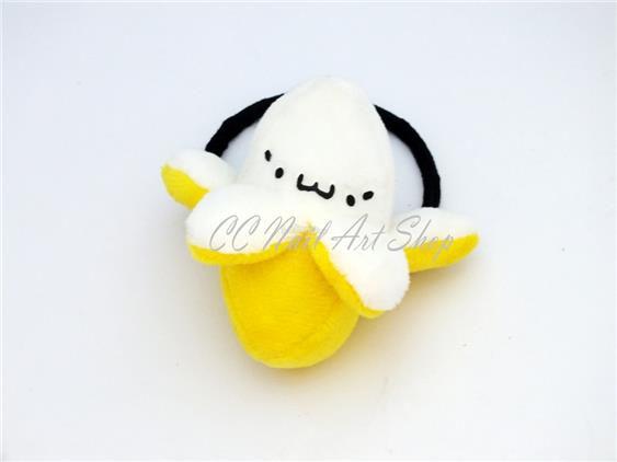 Banana Cute Hair Band Accessories Fashion Toy Keychain Bracelet