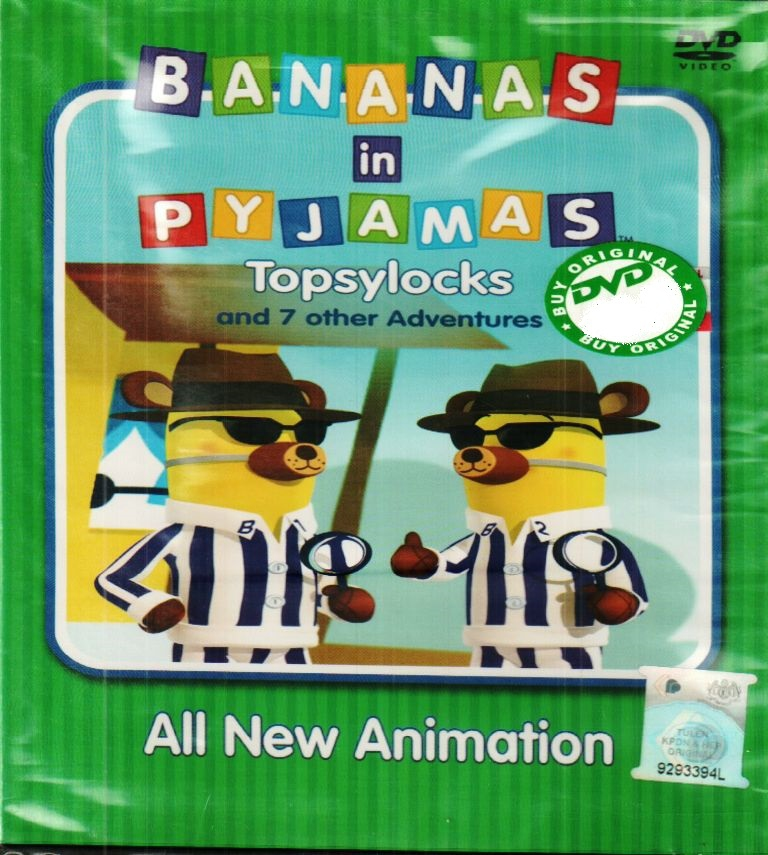 Banana In Pyjamas Topsylocks And 7 Other Adventure DVD