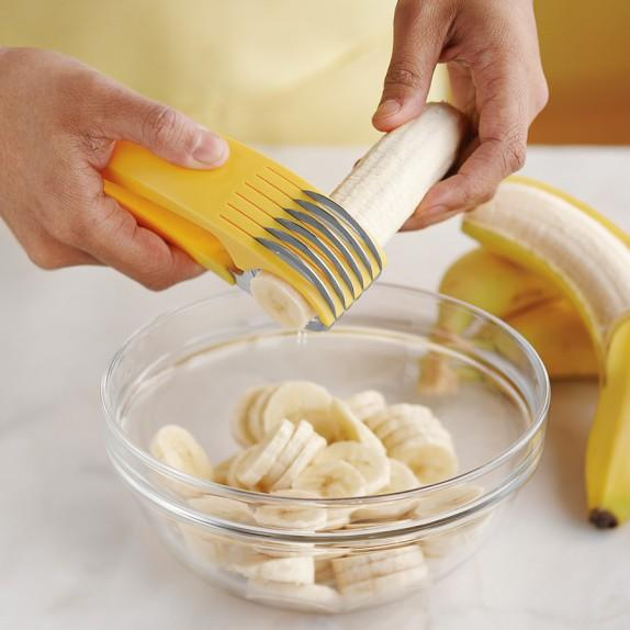 BANANA SLICER uniform size easy and faster than others kitchenware