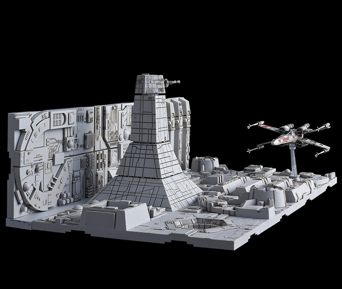 Bandai Star Wars DEATH STAR ATTACK SET 1/144 X-Wing Starfighter Battle Scene