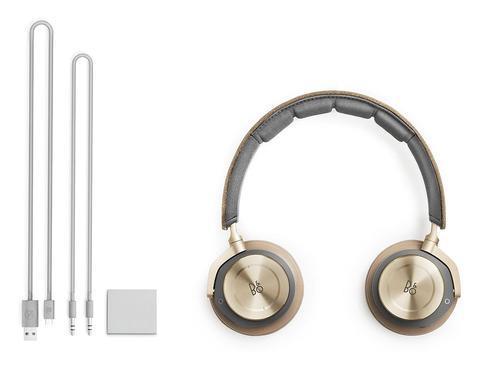 5e9bacba27d BANG & OLUFSEN B&O PLAY H8 WIRELESS ON-EAR HEADPHONES - GRAY HAZEL