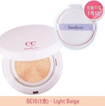 Banila Co It Radiant CC Cushion SPF35 PA++ +Refill 15g (BE10)