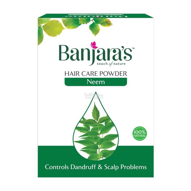 Banjara's Hair Care Neem Powder 100g (5 Sachets) Inside Readystock