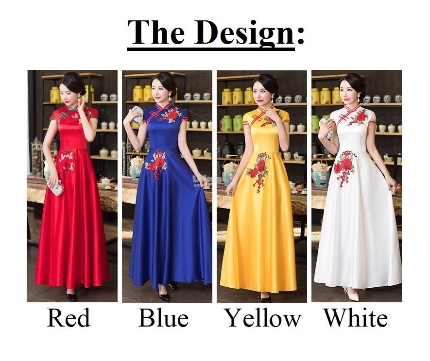 Banquet Fashion 2018NV – Modernised Oriental Cinderella Cheongsam