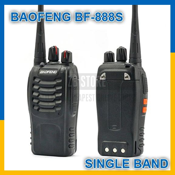 BaoFeng BF-888S 3KM Walkie Talkie 16 Channel Radio UHF 5W BF888S
