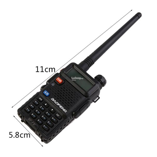BAOFENG BF-F8+ 128 Memory Channels Dual Band Hand-held Transceiver Ta