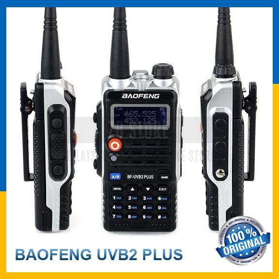 Baofeng UVB2 Plus UVB2Plus 8W VHF/UHF 4800mAh Two Way Walkie Talkie