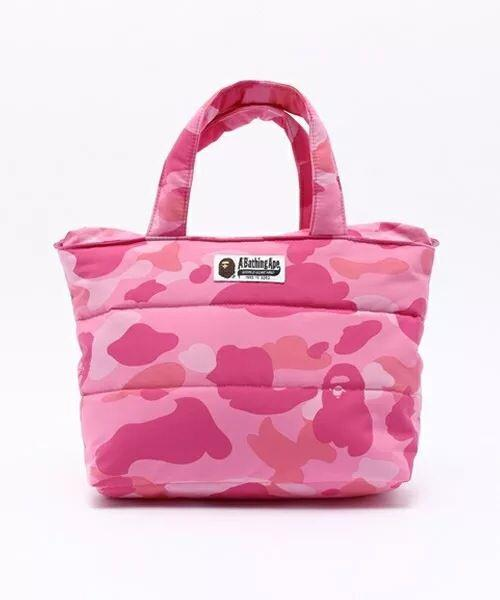 Bape Small Ladies Top Handle Tote Bag From Japan Magazine A