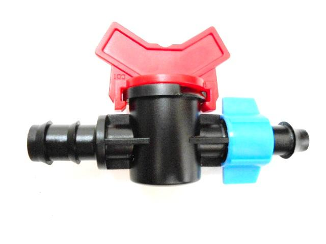Barb- Lock Valve For tape Dn16