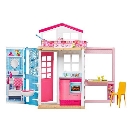 BARBIE Pink Passport 2 Story House 3 Yrs