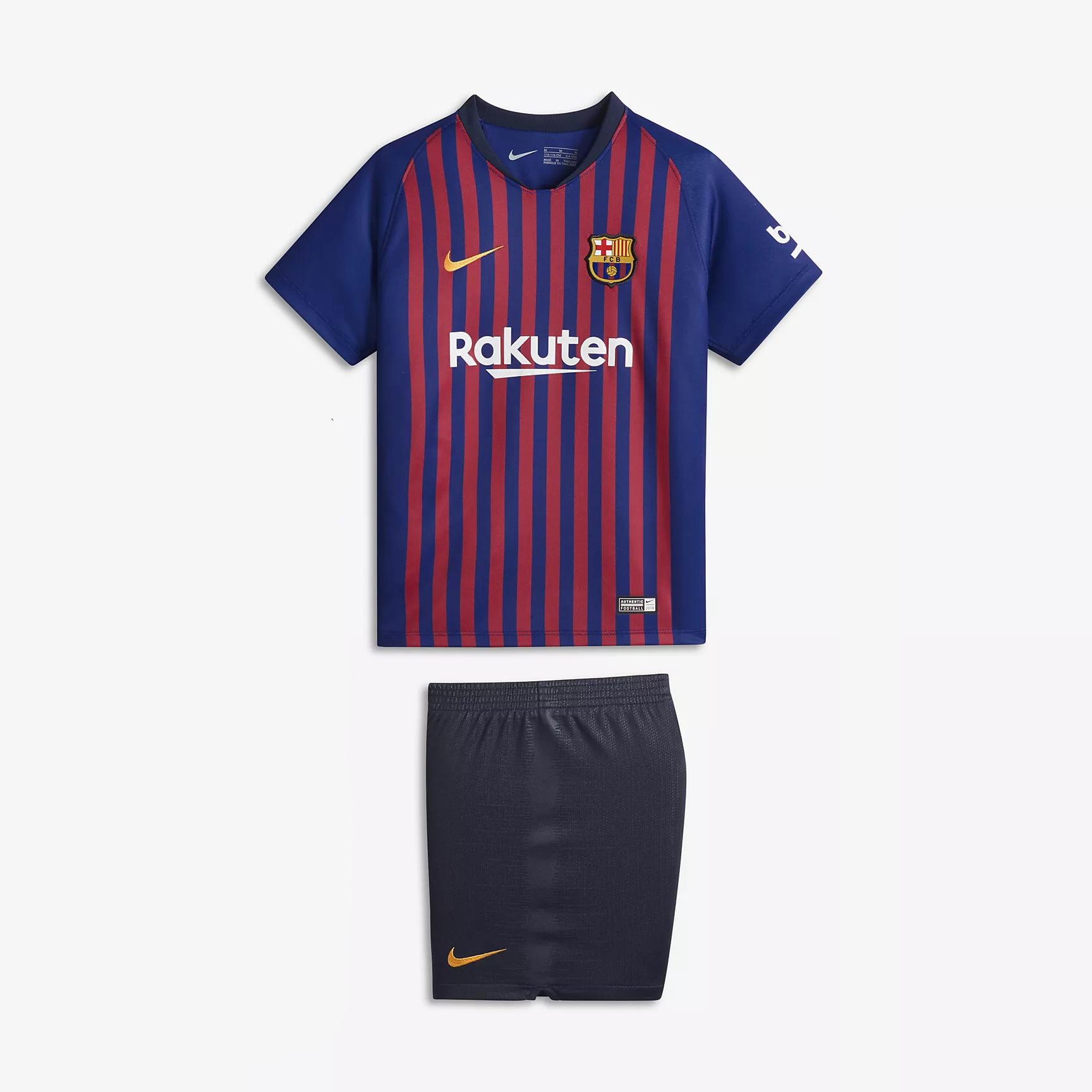 quality design 627b2 659e5 barcelona kids jersey