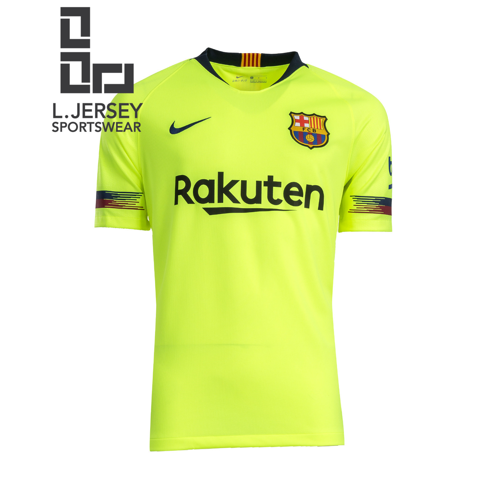 online retailer ccc65 4168c Barcelona Men Away 2018/19 Vaporknit Player Jersey