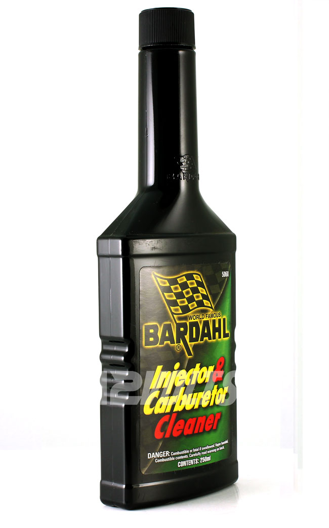 Bardahl Injector Carb Cleaner cleans carburetors and fuel injectors