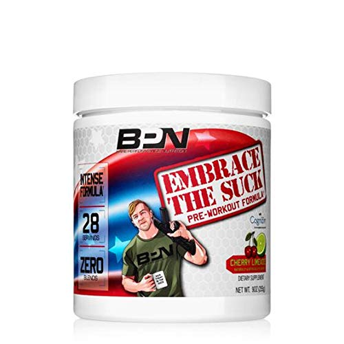 Bare Performance Nutrition | Embrace The Suck Intense Pre-Workout | Trademark