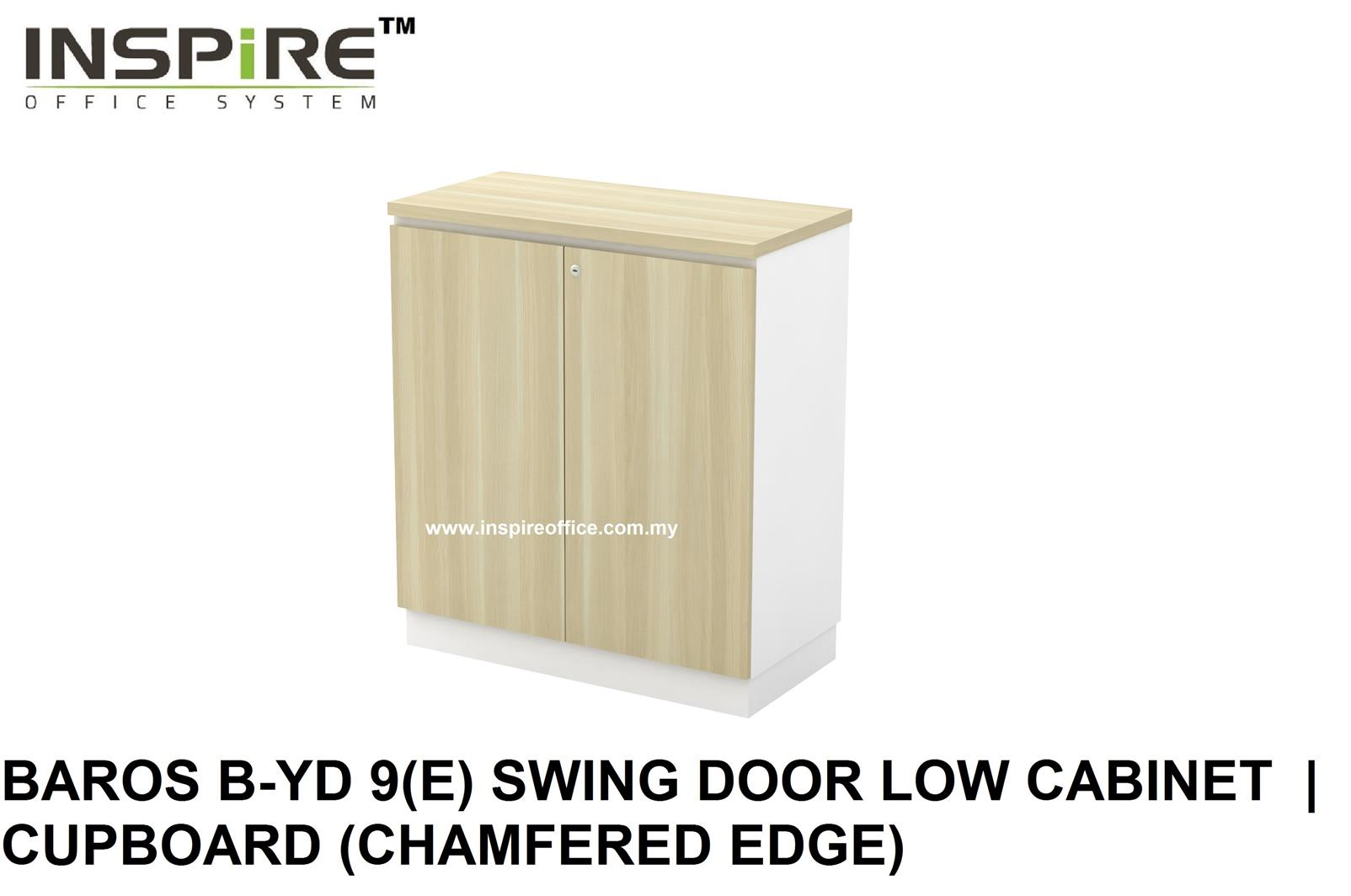 BAROS B-YD 9(E) SWING DOOR LOW CABINET  | CUPBOARD (CHAMFERED EDGE)