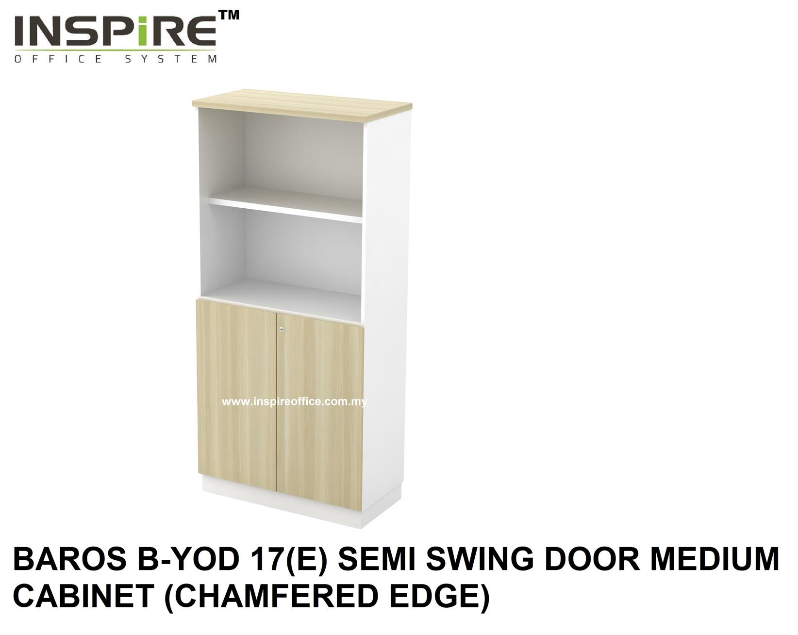 BAROS B-YOD 17(E) SEMI SWING DOOR MEDIUM CABINET (CHAMFERED EDGE)