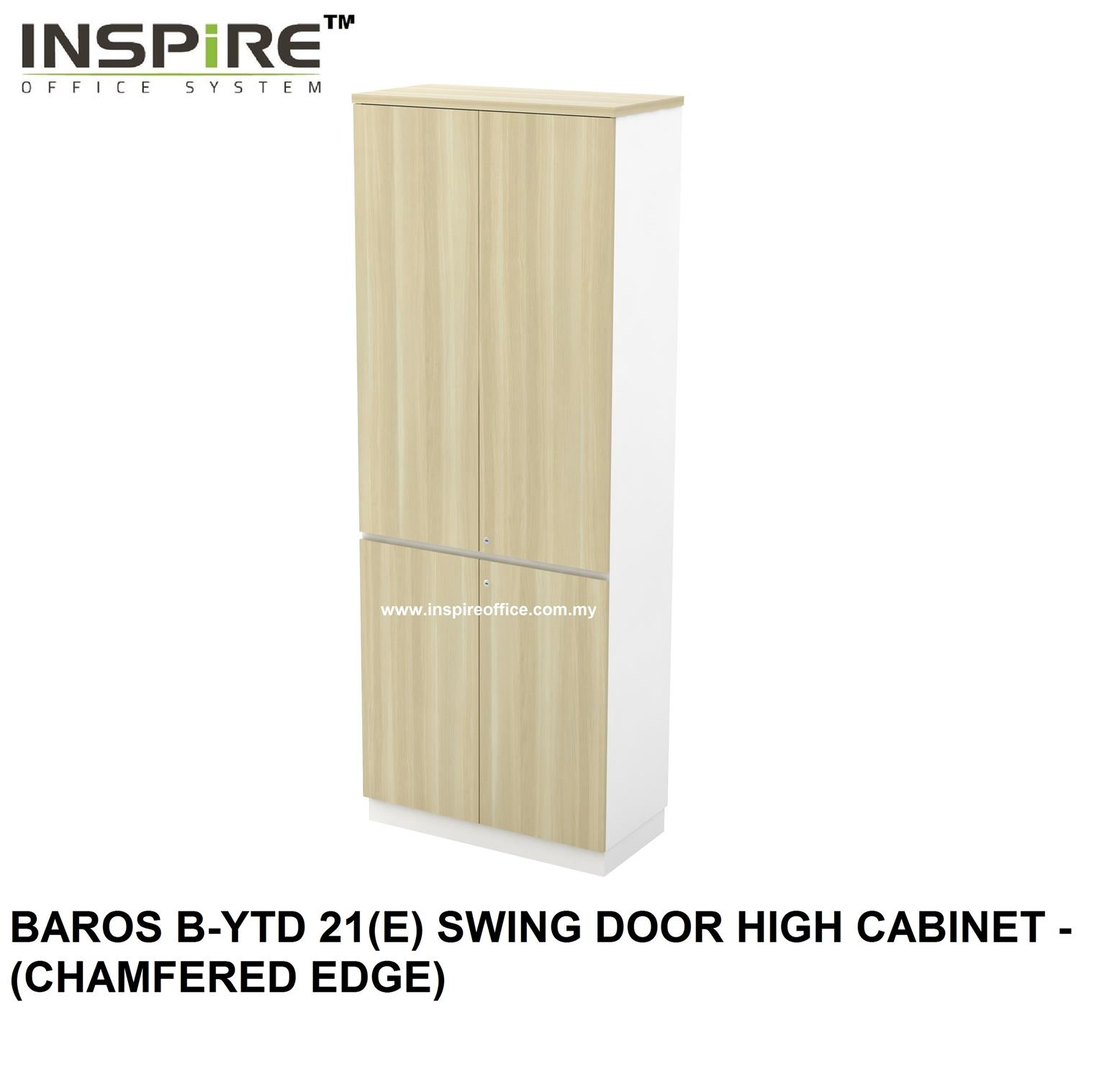 BAROS B-YTD 21(E) SWING DOOR HIGH CABINET - (CHAMFERED EDGE)