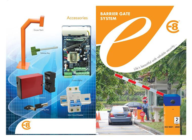 barrier gate syatem (E8)