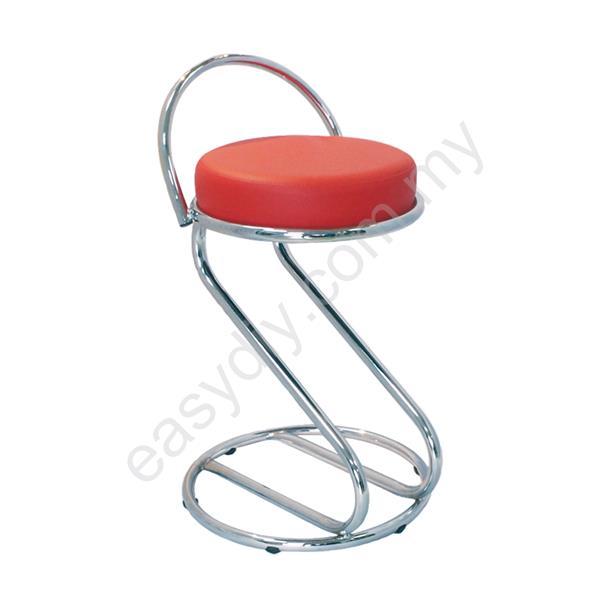 Barstool | Low Barstool with Backrest - E 779C
