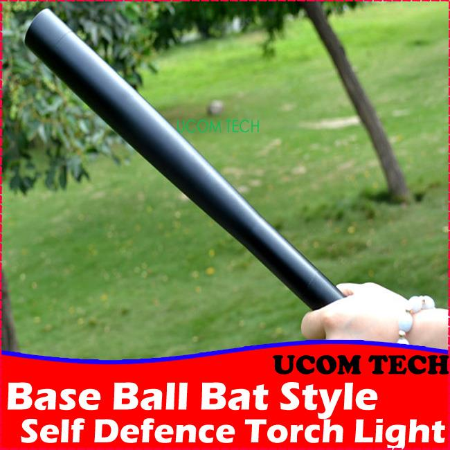 Base Ball Bat Style Self Defence Torch Light,Rechargeable Torchlight