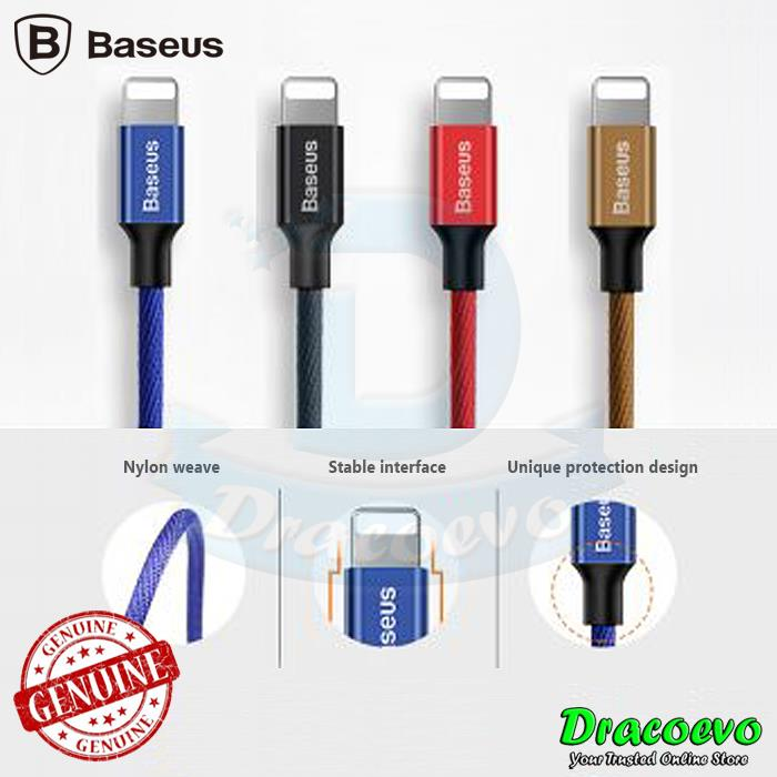 Baseus IOS iPhone X XR XS Max 8 7 6 1.2M Fast Data Charging USB Cable