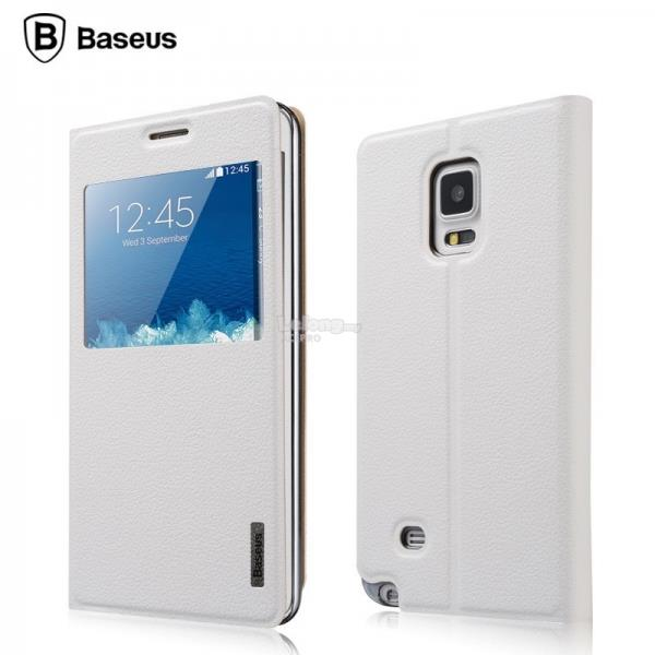 Baseus Primary Color Case Flip Cover Galaxy Note Edge