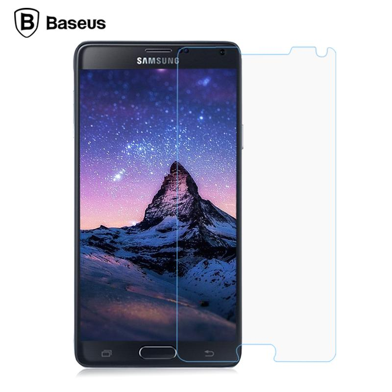 Baseus Samsung Galaxy Note 4 9H Tempered Glass Screen Protector Case
