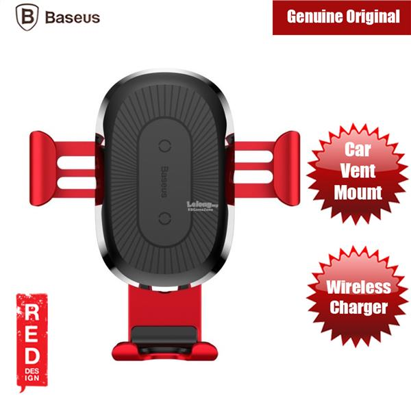 Baseus Wireless Fast Charger Gravity Car Mount Wireless Charger Holder
