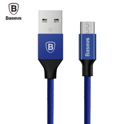 Baseus Yiven Micro USB Charging Sync Data Braided Cable 1M for Android..