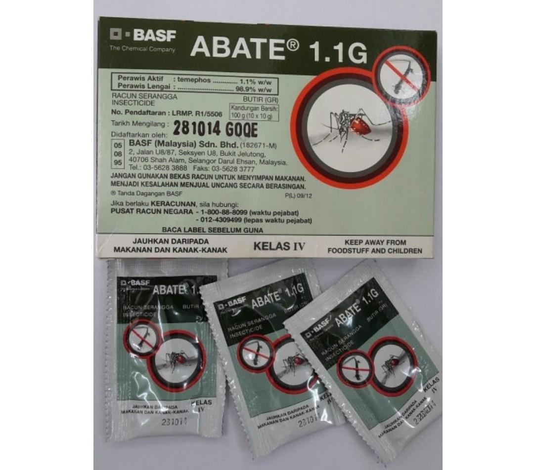 BASF Abate 1.1G Mosquito Larvae̴ (end 5/12/2018 3:15 PM