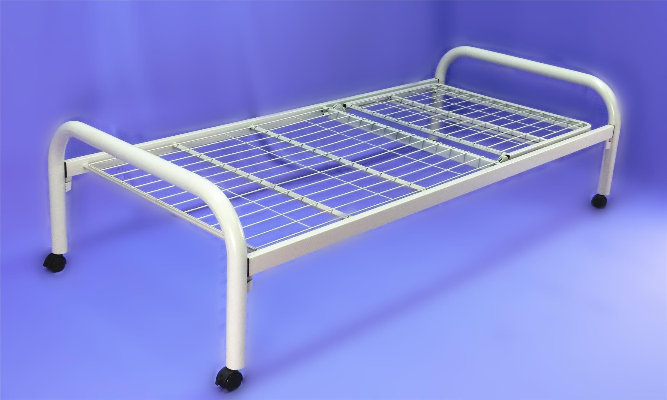 Basic Hospital Bed Manual Single Fowler Without Crank Katil Pesakit
