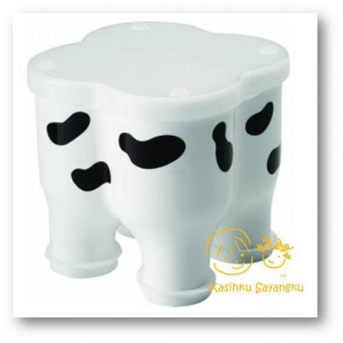BASILIC Cow Design Milk Powder Dispenser - Cow Shape