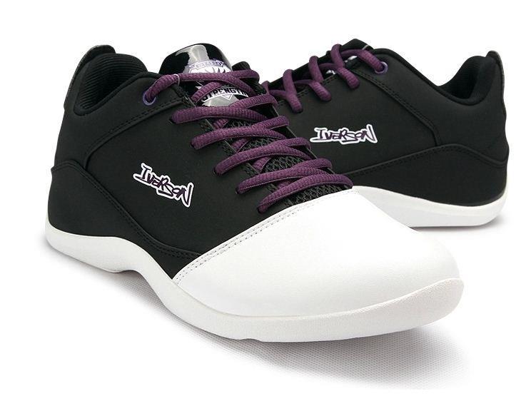 9b07cedfad1 Basketball Shoes Basketball Shoes IVERSON NBA Purple White. ‹ ›